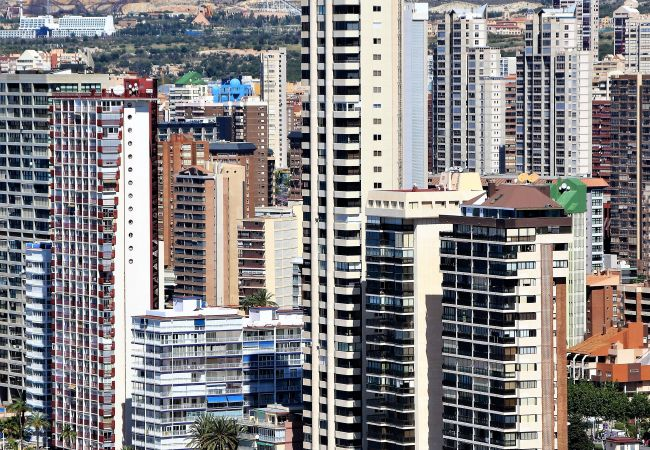 Apartamento en Benidorm - Torre Levante 22-C