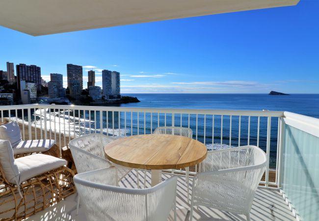 Impresionante apartamento en primera linea de playa.
