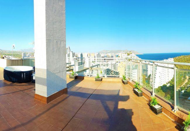 Amazing roof terrace !!