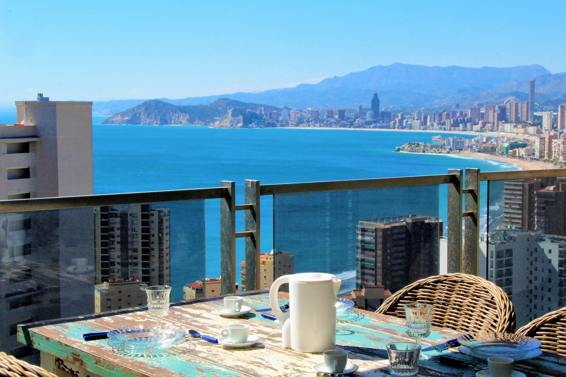 Apartments in benidorm mirador del mediterr neo 16 a for Mirador del mediterraneo