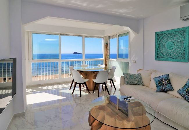 Luxury apartment on the beach front !!